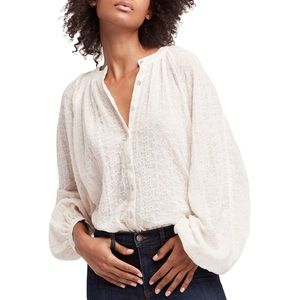 Free People Down w/ the Clouds Top (M)